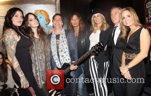 Mia Tyler, Chelsea Tallarico , Andy Hilfiger, Steven Tyler,Tommy Hilfiger and Guests Andrew Charles fashion line launch at RIFF...