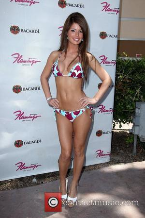 Laura Croft  Host's 'Go Pool Party' at Flamingo Hotel and Casino  Las Vegas, Nevada - 17.07.11