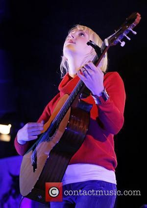 Laura Marling  performing live at Liverpool Anglican Cathedral  Liverpool, England - 28.10.11