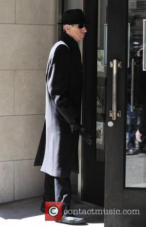 Richard Belzer  on the set of 'Law & Order: SVU' in Manhattan Los Angeles, California - 29.03.11