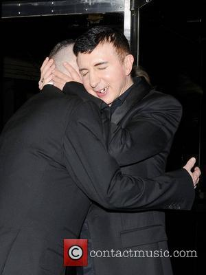 Marc Almond and Holly Johnson,  at a private dinner celebrating the 30th anniversary of London restaurant, Le Caprice London,...