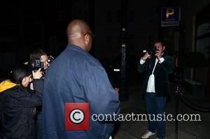 Huey Morgan Borrows A Paps Camera To Get Photos  at a private dinner celebrating the 30th anniversary of London...