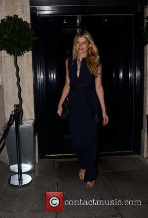 Meredith Ostrom  at a private dinner celebrating the 30th anniversary of London restaurant, Le Caprice London, England - 04.10.11
