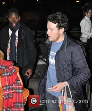 Joseph Mount of Metronomy  leaving the french TV show 'Le Grand Journal Paris, France - 18.04.11