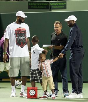 Dwayne Wade and Lebron James