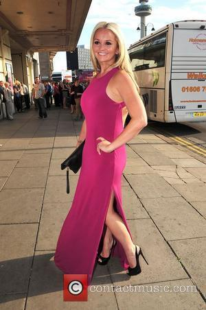 Jennifer Ellison at press night for Legally Blonde at the Liverpool Empire theatre Liverpool, England - 13.07.11