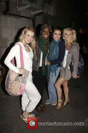 Ibinabo Jack And Carley Stenson And Nicola Brazil And Siobhan Dillon of Legally Blonde: The Musical at the Savoy Theatre....
