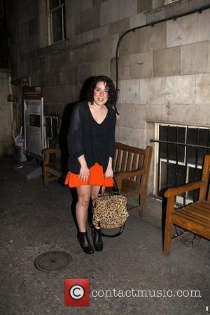 Natalie Casey of Legally Blonde: The Musical at the Savoy Theatre. London, England - 26.04.11