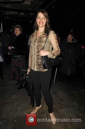 Kate Ford of Coronation Street,  arriving at the press night for the new production of Legally Blonde at the...