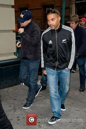 Leonardo DiCaprio and Lukas Haas are seen out and about in Soho New York City, USA - 11.11.11