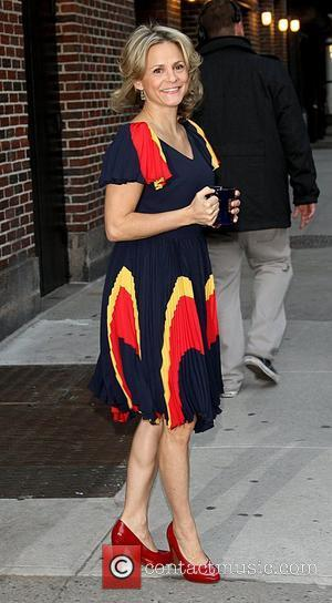 Amy Sedaris at the Ed Sullivan Theater for the 'Late Show With David Letterman' New York City, USA - 02.11.11