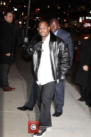 Martin Lawrence at The Ed Sullivan Theater for 'The Late Show with David Letterman' New York City, USA - 07.02.11