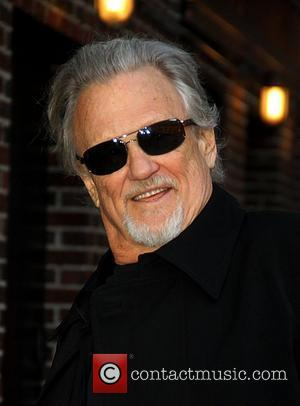 Kris Kristofferson,  at the Ed Sullivan Theater for the 'Late Show With David Letterman' New York City, USA -...