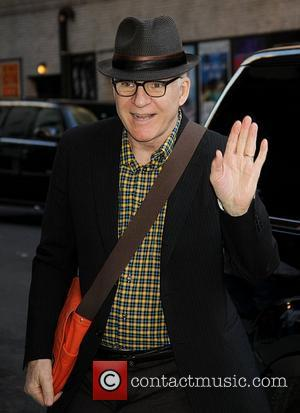 Steve Martin,  at the Ed Sullivan Theater for the 'Late Show With David Letterman' New York City, USA -...