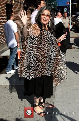 Roseanne Barr,  arrives for the 'The Late Show with David Letterman' at the Ed Sullivan Theater. New York City,...