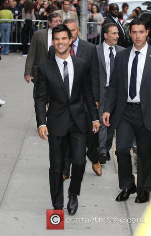 Taylor Lautner at Ed Sullivan Theater after appearing on 'The Late Show with David Letterman'  New York City, USA...