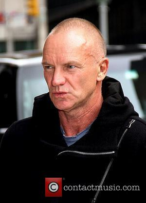 Sting aka Gordon Sumner 'The Late Show with David Letterman' at the Ed Sullivan Theater - Arrivals New York City,...