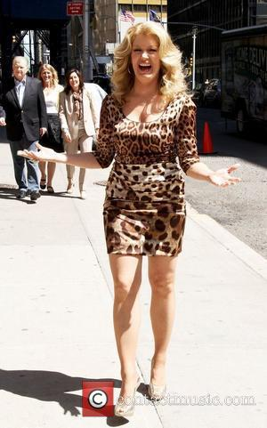 Mary Hart Celebrities outside The Ed Sullivan Theater for 'The David Letterman Show'  New York City, USA - 10.05.11