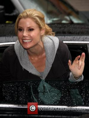 Julie Bowen  'The Late Show with David Letterman' at the Ed Sullivan Theater New York City, USA - 18.05.11