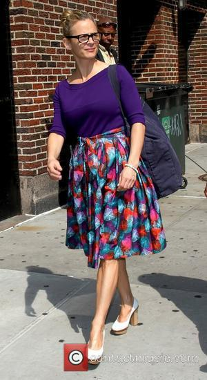 Amy Sedaris 'The Late Show with David Letterman' at the Ed Sullivan Theater - Arrivals New York City, USA -...