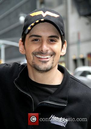 Brad Paisley 'The Late Show with David Letterman' at the Ed Sullivan Theater - Arrivals New York City, USA -...