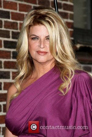 Kirstie Alley 'The Late Show with David Letterman' at the Ed Sullivan Theater - Arrivals New York City, USA -...