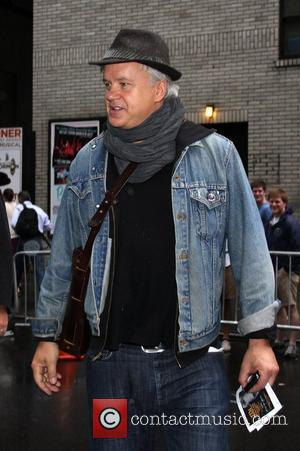 Tim Robbins 'The Late Show with David Letterman' at the Ed Sullivan Theater - Arrivals New York City, USA -...
