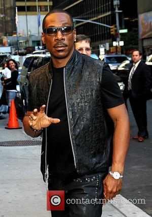 Eddie Murphy 'The Late Show with David Letterman' at the Ed Sullivan Theater - Arrivals New York City, USA -...