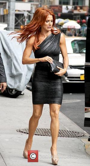 Poppy Montgomery 'The Late Show with David Letterman' at the Ed Sullivan Theater - Arrivals New York City, USA -...