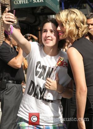 Dianna Agron Kept Broken Nose From Her Mum