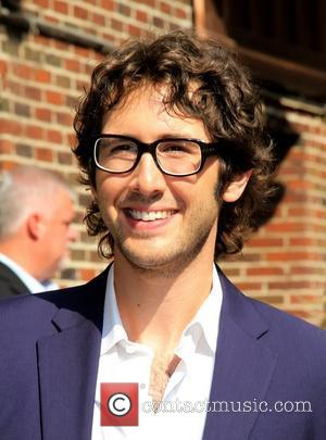 Josh Groban 'The Late Show with David Letterman' at the Ed Sullivan Theater - Departures New York City, USA -...