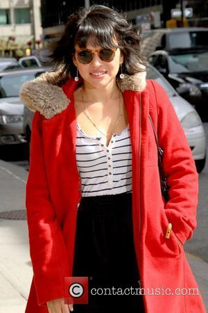 Norah Jones 'The Late Show with David Letterman' at the Ed Sullivan Theater - Arrivals New York City, USA -...