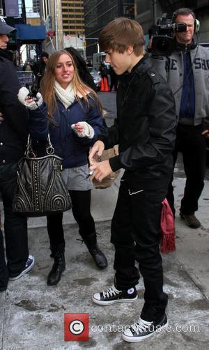 Justin Bieber and Ed Sullivan