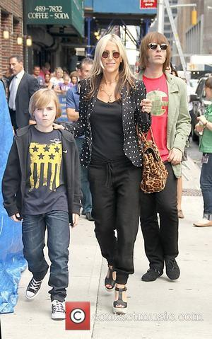 Gene Gallagher, Nicole Appleton and Liam Gallagher 'The Late Show with David Letterman' at the Ed Sullivan Theater  New...