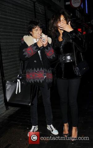Ronnie Wood and London Fashion Week