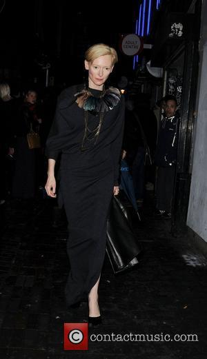 Tilda Swinton and London Fashion Week