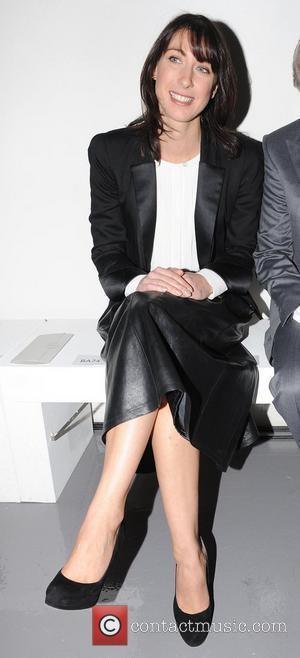 Samantha Cameron London Fashion Week A/W 2011 - Aquascutum - Front Row London, England - 22.01.11
