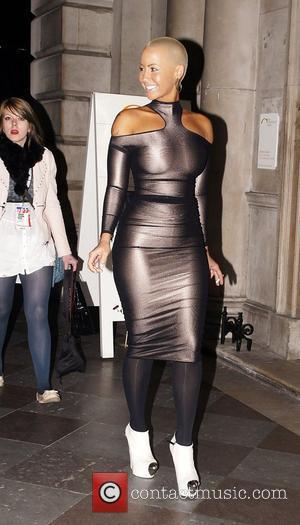 Amber Rose, London Fashion Week and Somerset House