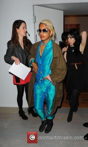 M.I.A London Fashion Week A/W 2011 - Ashish- Front Row  London, England - 22.02.11