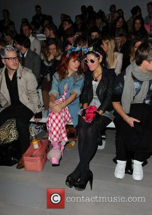 Paloma Faith and Marina Diamandis of Marina and the Diamonds  London Fashion Week A/W 2011 - Ashish- Front Row...