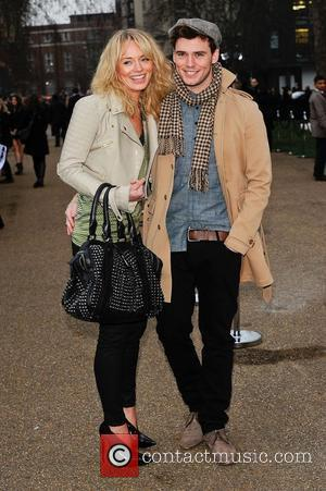 Laura Haddock and Sam Claflin London Fashion Week A/W 2011 - Burberry Prorsum - Arrivals London, England - 21.02.11