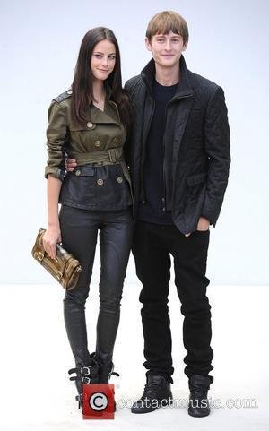 Kaya Scodelario and Elliot Tittensor  London Fashion Week Spring/Summer 2012 - Burberry Prorsum - Arrivals London, England - 19.09.11