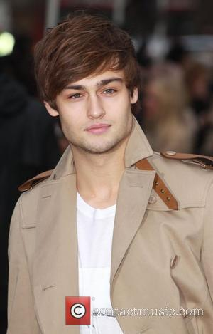 Douglas Booth London Fashion Week A/W 2011 - Burberry Prorsum - Arrivals held at the Kensington Gardens London, England -...