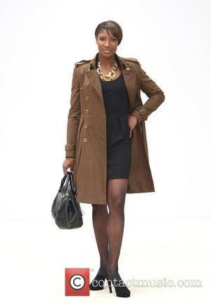 Denise Lewis London Fashion Week Spring/Summer 2012 - Burberry Prorsum - Arrivals London, England - 19.09.11