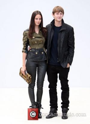 Kaya Scodelario and Elliott Tittensor  London Fashion Week Spring/Summer 2012 - Burberry Prorsum - Arrivals London, England - 19.09.11