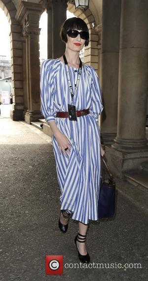 Erin O'connor and London Fashion Week