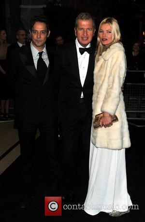 Mario Testino, Jamie Hince and Kate Moss