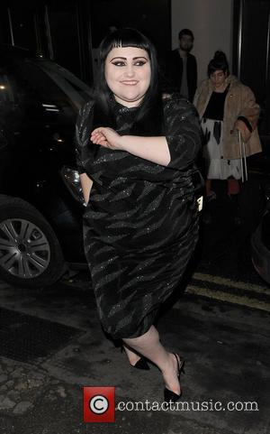 Beth Ditto London Fashion Week A/W 2011: Julian J Smith, held at On|Off, Mercer Studios - Departures London, England -...