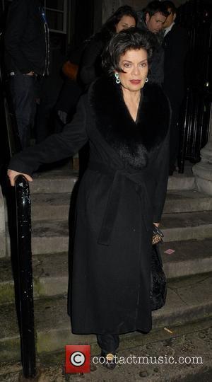 Bianca Jagger London Fashion Week A/W 2011 - Julien Macdonald - Departures London, England - 21.02.11