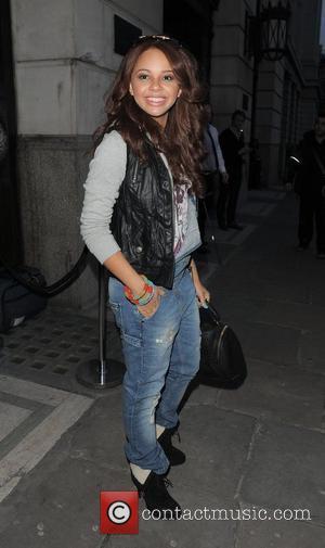 Alexis Jordan London Fashion Week A/W 2011 - The Look Show - Outside Departures London, England - 18.02.11